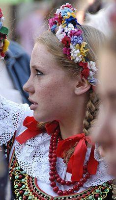 "Participant ""Krakowiak 2007"" the 26th International Festival of Children and youth Folk Groups. Krakow"