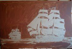 Pintura Militar y Naval: El Navío Santísima Trinidad II