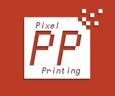 Pixel Printing needed a simple yet updated logo. This is what Cizastudios.com created. Company Logo, Printing, Graphics, Graphic Design, Logos, Simple, Artwork, Work Of Art, Auguste Rodin Artwork