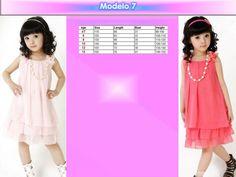 Vestido Para Niña Casual Elegante Moda Moderna Envio Gratis - $ 349.00 en…                                                                                                                                                                                 Más
