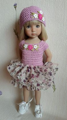 """Outfit for doll 13 """"Dianna Effner Little Darling hand made #DiannaEffner:"""