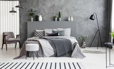 Bedroom Decorating Ideas – Creative bedroom decorating with an unusual bed adds interest to your room, helps personalize your home […] Bedroom Inspo, Bedroom Wall, Kids Bedroom, Bedroom Furniture, Bedroom Decor, Bedroom Black, Armchair Bed, Grey Armchair, Gray Interior