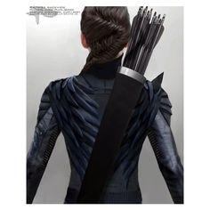 'Mockingjay Part 1' Costume Designers on the Mockingjay Suit, Peeta's... ❤ liked on Polyvore featuring costumes, blue costume and blue halloween costume