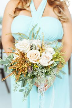 Mint, gold and blush inspiration | Photography: Cojo Photo - www.cojophoto.com  Read More: http://www.stylemepretty.com/canada-weddings/2014/12/30/mint-gold-and-blush-wedding-inspiration-shoot/