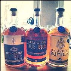 Balcones selection from their distillery in Waco, Texas. (the first legal whisky distillery in Texas since Prohibition)
