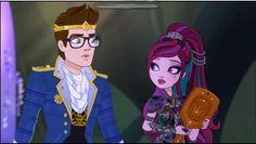 Ever After High Wonder World Dragon Games Raven and Dexter