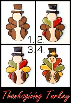 LilaLoa: Thanksgiving Turkey - Cookies And Cards