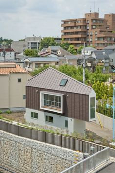 Clever Small Home Architecture Derived From Site Restrictions in Tokyo