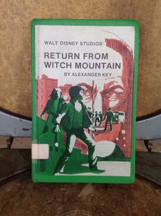 """Vintage """"Return from Witch Mountain"""" First Edition on Etsy, $10.00"""