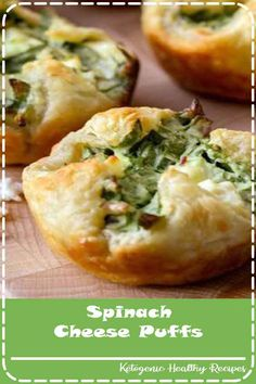 These puff pastry appetizers are filled with all the good stuff, including spinach, bacon bits and feta.