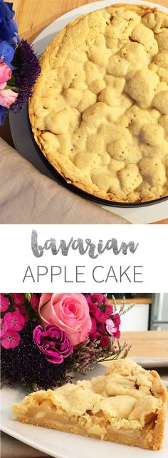 german apple cake Bavarian Covered Apple Cake is one of the best German Cakes! Filled with apples and topped with a shortbread crust. Fall Recipes, Sweet Recipes, Fun Desserts, Dessert Recipes, German Apple Cake, Shortbread Crust, Apple Cake Recipes, Frosting Recipes, Coffee Cake