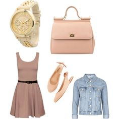 Untitled #865 by joleen2310 on Polyvore featuring polyvore fashion style Topshop Lucky Dolce&Gabbana Olivia Pratt