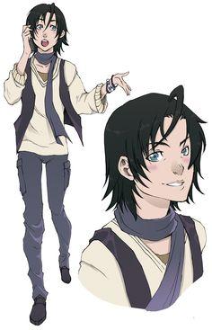 Armin.aparência no mangá. :3