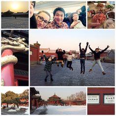 东北 (Dong Bei) part II  After our visit in the Ice City of Harbin we traveled further south to 沈阳 (Shen Yang), which is our friend's birthplace and the capital of #Liaoning Province. It's famous for its Imperial #Palace (yeah there more than one!).