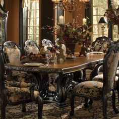 Aico Oppulente Rectangular Dining Table In Regal Black, Offered By Aico  Furniture, Browse Our Great Selection Of Rectangle Tables