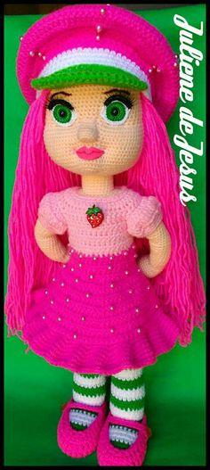 Crocheting Patterns, Crochet Toys, Elsa, Roses, Weight Loss, Christmas Ornaments, Holiday Decor, Strawberry Shortcake Doll, Beret