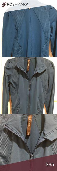 Aqua blue Lorna Jane athletic jacket. Aqua blue athletic Lorna Jane jacket. Super cute on. Form fitting. In perfect condition. It's Lorna jane's black label. Lorna Jane Jackets & Coats