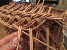 Мастер-класс Плетение Две загибки- принцип один Трубочки бумажные фото 24