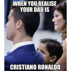 Just imagine how proud is Junior to have dad like Ronaldo #cristiano #ronaldo…