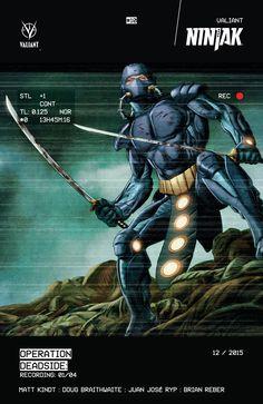 Ninjak #10 Cover A by Doug Braithwaite