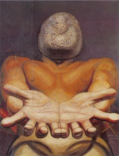 Our Present Image, 1947 David Alfaro Siqueiros - by style - Muralism Diego Rivera, Arte Latina, Clemente Orozco, Famous Mexican, Latino Art, Mexican Artists, Chicano Art, Art Database, Psychedelic Art