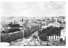 Old City in Palestine, in Al-Quds (Jerusalem) approx. 1937