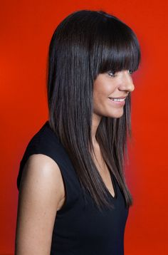 Photo of Jessica Walsh can be used on any article online or in print about 40 Days of Dating as long as you supply a photography credit to Osvaldo Ponton. 40 Days Of Dating, Sagmeister And Walsh, Thick Bangs, Jessie J, Beautiful Long Hair, Short Hair Styles, Hair Cuts, Bob, Couples