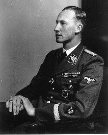 """January 20, 1942 - SS Leader Heydrich holds the Wannsee Conference to coordinate the """"Final Solution of the Jewish Question."""""""