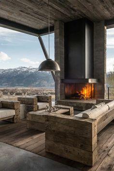 Quel type d\'intérieur pour votre chalet en bois habitable? | Chalets