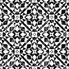 Grunge seamless geometric pattern in modern hipster style with small triangles and abstract stars in black and white. Vector backg