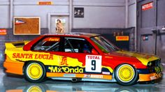 Fly Car Model 99045-2. BMW M3 E30. Team Santa Lucía CET 1993. Alain Ferté. #slotcar