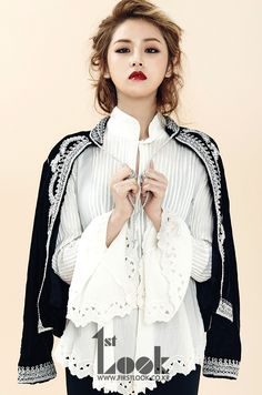 4Minute Ga Yoon - 1st Look Magazine Vol.51