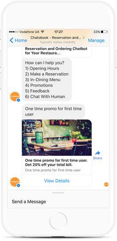 Food Ordering Bot for Restaurants, Bars and Grocery Stores Dining Menu, Facebook Messenger, Order Food, Delivery, Templates, How To Make, Stencils, Vorlage, Models