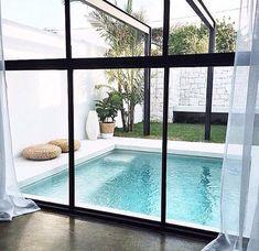 Pool design inspiration by COCOON   villa design   hotel design   bathroom design   design products for easy living   Dutch Designer Brand COCOON.