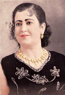 88. Fadhéla Dziria (1917-1970), Algerian traditional singer
