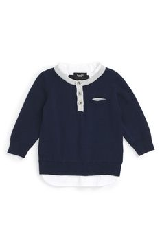 Bardot Junior Layered Sweater (Baby Boys) available at #Nordstrom