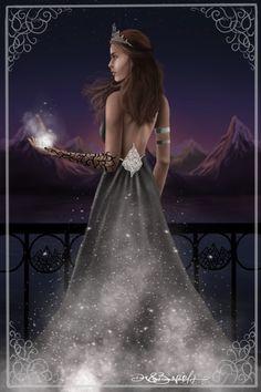 Omg I absolutely love this it's so beautiful Dark & Beautiful Art Feyre Archeron
