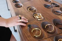 Marmol Radziner jewelry display