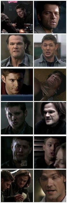 When someone says celebrities are always beautiful.. they've clearly never paused Supernatural...