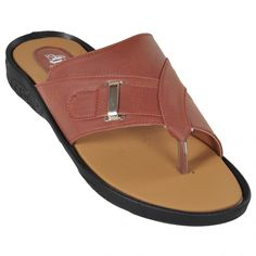 Ajanta Brown::Beige::Black Men Sandals