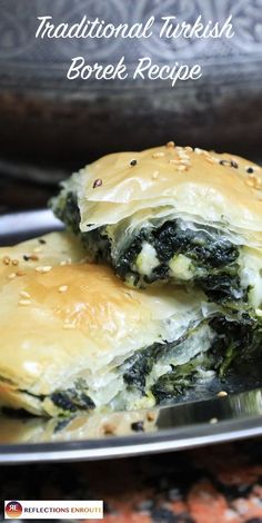 You can find a variation of this amazing recipe in many parts of the world, but my favorite is the Traditional Turkish Borek Recipe that we learned. Check out our easy-to-follow recipe for borek. #recipe #Turkey #Turkishfood #Turkishcuisine #cheapeats #howto #borek #traditonal #reflectionsenroute Turkish Borek, Burek Recipe, Turkish Recipes, Ethnic Recipes, Romanian Recipes, Scottish Recipes, Cooking Recipes, Healthy Recipes, Middle Eastern Recipes