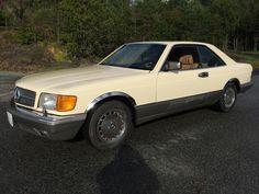 Mercedes-Benz S-Klasse 560 SEC 1987, 170 000 km, kr 99 000,-