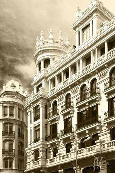 El cielo de Madrid - Gran Via