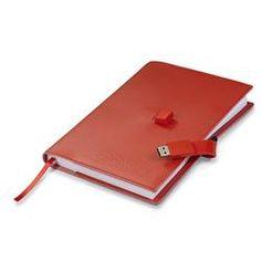 Branded Silvio USB Notebook | Corporate Logo Silvio USB Notebook | Corporate Gifts