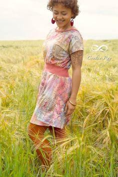 Nähanleitung und Schnittmuster Kleid Federleicht   textilsucht