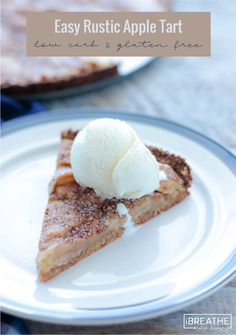 This easy rustic apple tart gives you all the flavor of apple pie ...