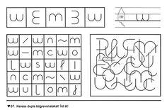 Fejlesztés - Kiss Virág - Picasa Webalbums Words, Therapy, Activities, Patterns, Kindergarten, Horse