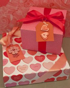 Valentine's Day Gift Tags How-To
