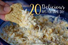 20 Delicious Dips fo