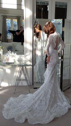 Steven Khalil 2014 #wedding dress